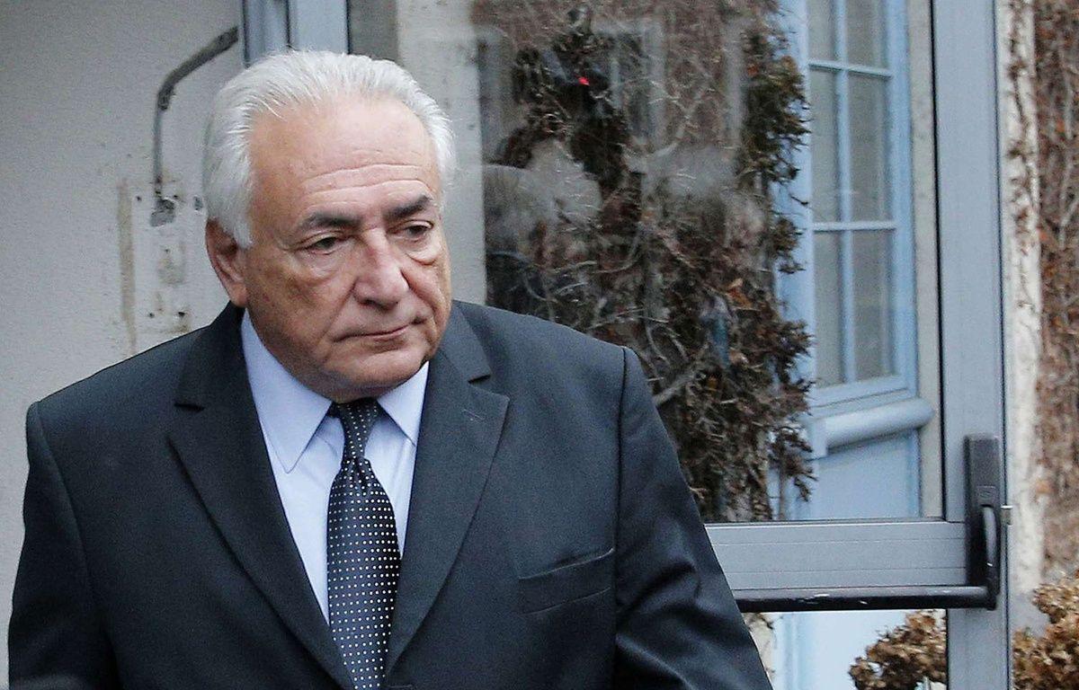Dominique Strauss-Kahn à Lilel, le 11 février 2015. –  Christophe Ena/AP/SIPA