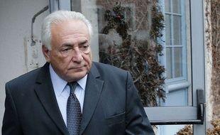 Dominique Strauss-Kahn à Lilel, le 11 février 2015.