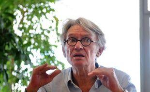 Jean-Claude Mailly lors d'une conférence de presse le 25 mai 25 à La Rochelle