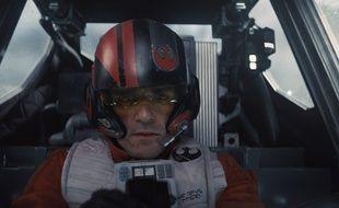 Oscar Isaac dans «Star Wars : Le réveil de la Force».