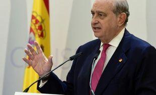 Jorge Fernandez Diaz, le ministre de l'Intérieur espagnol, le 28 juillet 2015, à Madrid