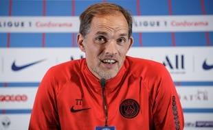 Thomas Tuchel, le 13 septembre 2018 au Camp des Loges.