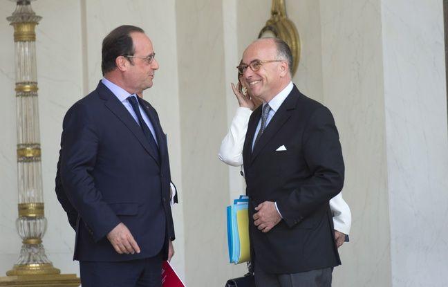 Hollande, Jospin, Cazeneuve... La famille socialiste réunie au Sénat autour de ses grandes figures