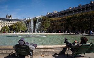Du soleil en France
