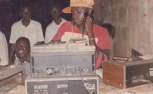 Le Ghanéen Ishmael Abbey, alias DJ Katapila, en 1992.