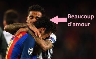 Dani Alves et Neymar sont très proches
