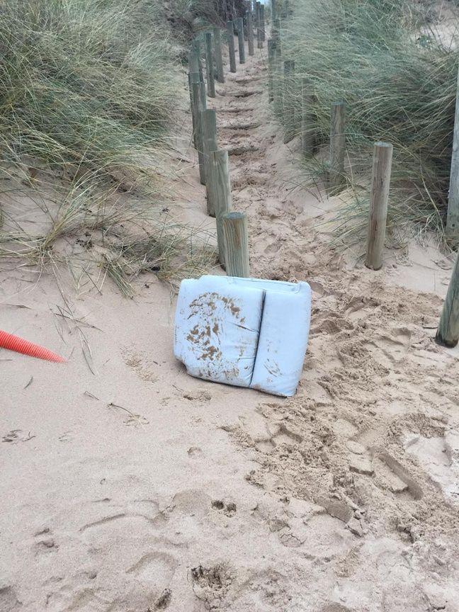 Un coussin de siège de l'avion d'Emiliano Sala a été retrouvé sur une plage de la Manche.