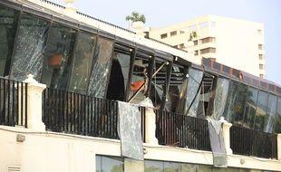 Un hôtel au Sri Lanka où a eu lieu une attaque terroriste le 22 avril 2019.