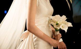 Une photo de mariage