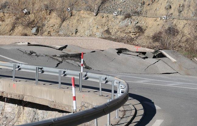 Pyrénées-Orientales: Les travaux de la RN116, coupée en deux depuis la tempête Gloria, ont repris