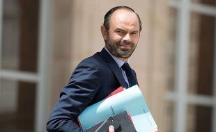 Le Premier ministre Edouard Philippe à l'Elysée le 28 juin 2017.