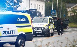 La fusillade a eu lieu dans une mosquée près d'Oslo, en Norvège.