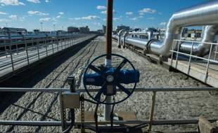 L'usine de traitement des eaux usées Blue Plains de DC Water, l'une des plus grandes stations d'épuration au monde, le 23 novembre 2015 à Washington