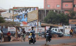 Une rue de Ouagadougou, le 27 novembre 2017.