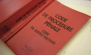 Illustration justice. Code de procédure pénale.