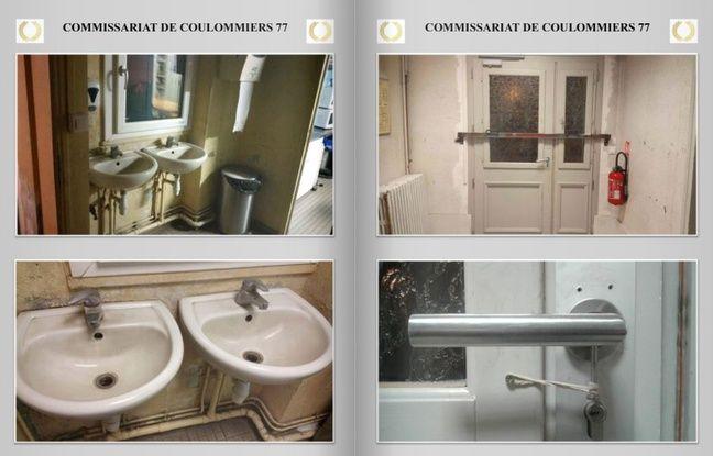 Le commissariat de Coulommiers en Seine-Et-Marne
