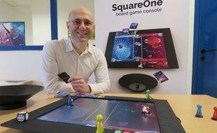 Au royaume du jeu, la société Wizama et son président Franck Botta vont présenter SquareOne,