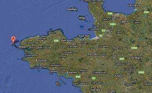 Le naufrage du remorqueur Aquarius s'est produit au large de l'île d'Ouessant, ce 23 avril