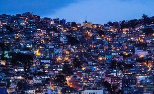 Rocinha, la plus grosse favela de Rio de Janeiro, 2014