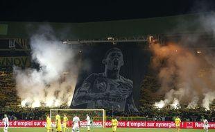 La rencontre Nantes-Sainté est marquée par les hommages à Emiliano Sala, ce mercredi soir à la Beaujoire.