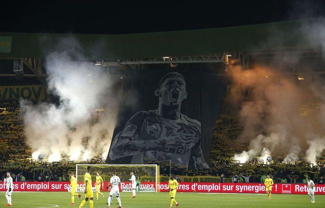 Mort d'Emiliano Sala: Une amende pour le FC Nantes pour usage de fumigènes lors du match hommage à l'Argentin