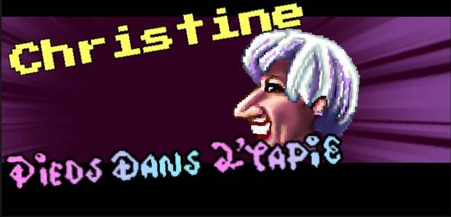 Capture d'écran du jeu vidéo lancé le 7 avril par l'équipe de Jean-Luc Mélenchon intitulé