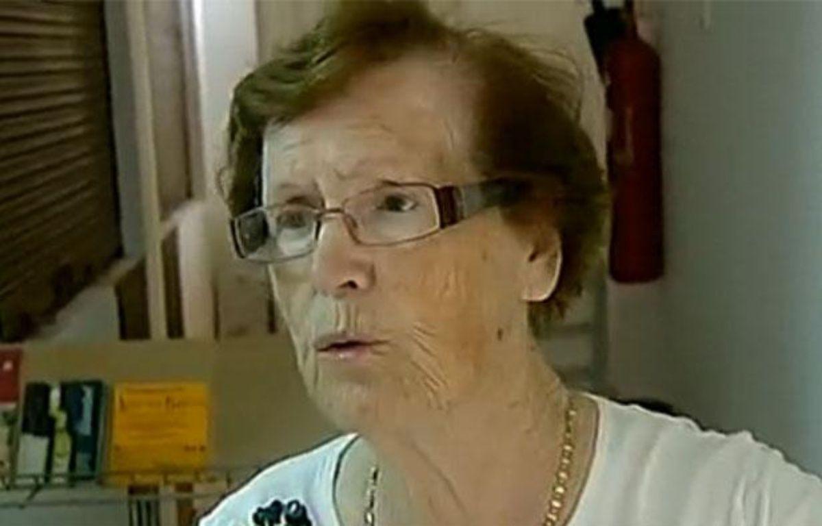 Cecilia Giménez, qui a tenté de restaurer une peinture du Christ à Borja (Espagne), le 22 août 2012. – 20minutes.fr