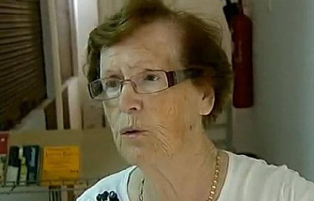 Cecilia Giménez, qui a tenté de restaurer une peinture du Christ à Borja (Espagne), le 22 août 2012.
