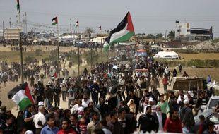 De nouveaux heurts ont éclaté vendredi à la frontière entre Israël et la bande de Gaza lors de protestations de milliers de Palestiniens pour le troisième vendredi consécutif