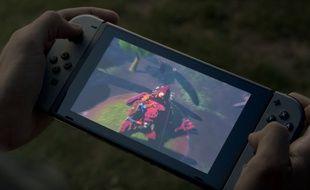 Capture d'écran de la vidéo de présentation de la Nintendo Switch.