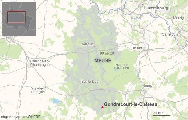 Gondrecourt-le-Château. Map4News