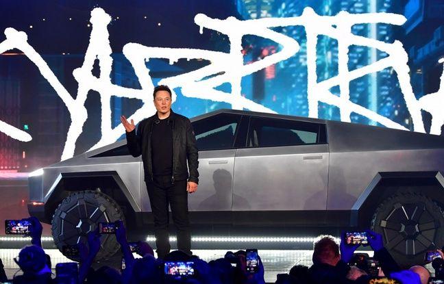 Gros fail et design douteux... Elon Musk présente le «cybertruck» 100% électrique de Tesla