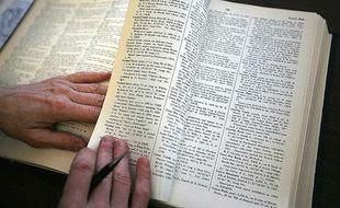Image d'un dictionnaire.