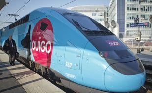Paris le 19 fevrier 2013. Présentation du TGV Oui Go