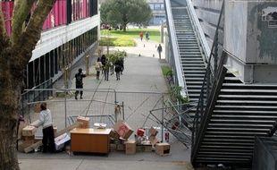 L'occupation de l'université Rennes 2 a débuté jeudi dernier.