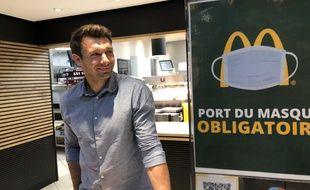 Vincent Clerc est depuis le 1er juillet le patron du McDonald's de Compans, à Toulouse.