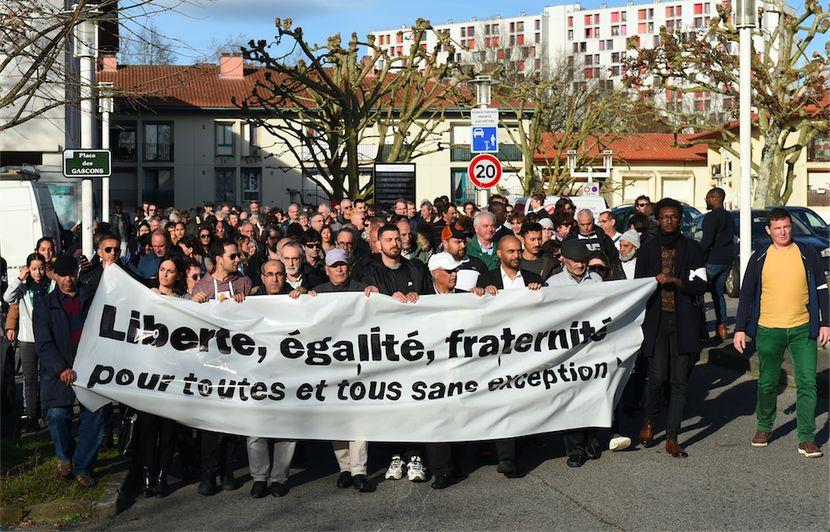 Bayonne : « Marche pour la paix » après l'attaque de la mosquée