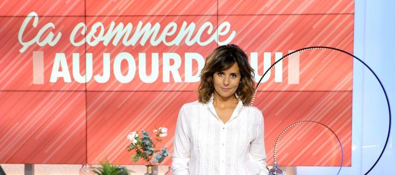 Faustine Bollaert, ce vendredi après-midi sur le plateau de «Ça commence aujourd'hui».