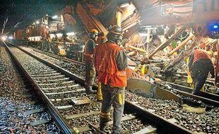 Réseau ferré de France réalise d'importants travaux de renouvellement des voies en Aquitaine