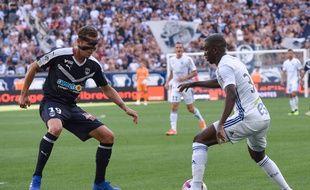 Les Girondins de Lukas Lerager ont passé leur temps à défendre face à Strasbourg.