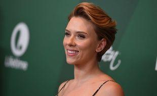 Scarlett Johansson le 9 octobre 2016 à Beverly-Hills.