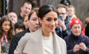 L'ancienne actrice et future épouse du prince Harry, Meghan Markle