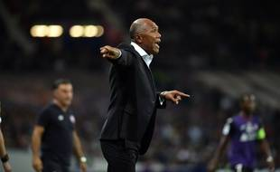 Première réussie pour Antoine Kombouaré comme entraîneur du TFC, le 19 octobre 2019 contre Lille en Ligue 1.