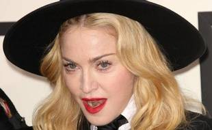 Madonna, aux Grammy Awards, à Los Angeles, le 26 janvier 2014.