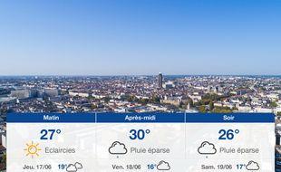 Météo Nantes: Prévisions du mercredi 16 juin 2021