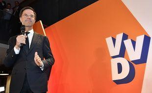Le Premier ministre néerlandais Mark Rutte, le 15 mars 2017.