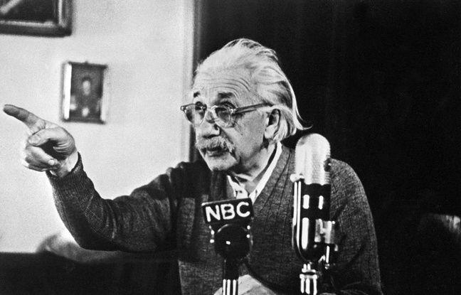 nouvel ordre mondial | Une note manuscrite d'Einstein sur le bonheur adjugée à 1,56  million de dollars