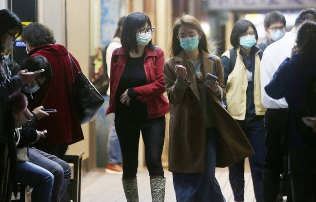 648x415 habitants portent masques proteger coronavirus taipei lundi 30 novembre
