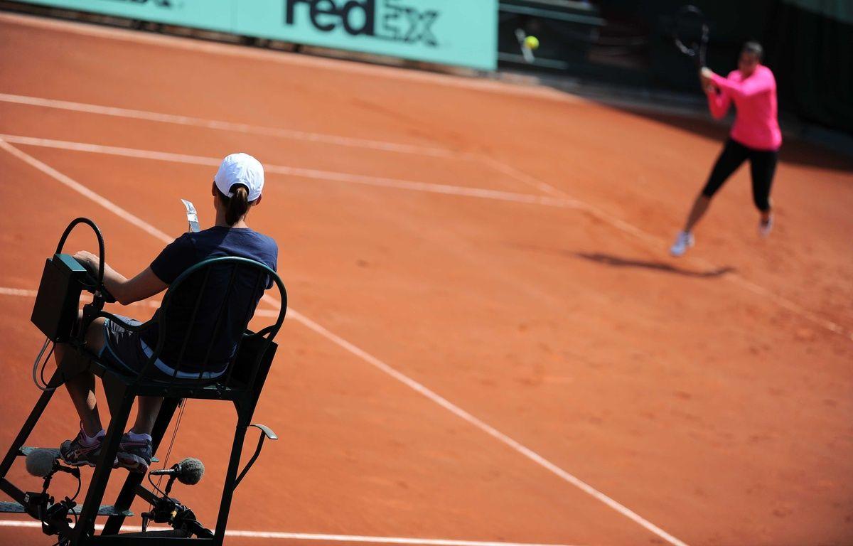 Deux arbitres de tennis ont été suspendus pour des faits de corruption en février 2016.  – REAU ALEXIS/SIPA