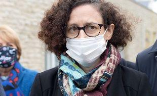 Emmanuelle Wargon, ministre déléguée chargée du Logement, à Dijon le 4 décembre 2020.